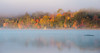 Mist over Dwight Bay, Lake of Bays