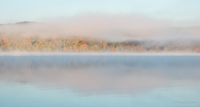 Mist over Dwight Bay, #2, Lake of Bays