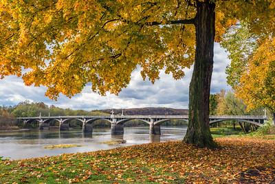 Nurse Helen Fairchild Memorial Bridge - Watsontown, Pennsylvania