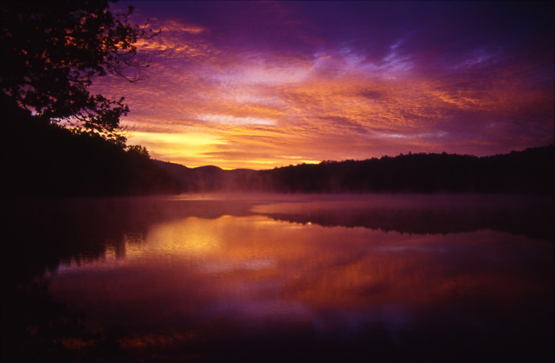 Sunrise at Price Lake