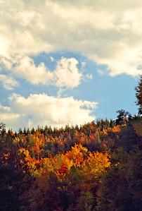 NC Autumn Mountain Slopes