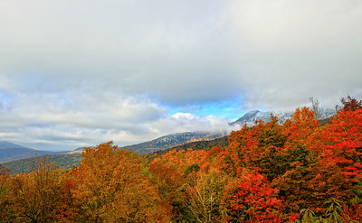 Linn Cove Viaduct Blue Ridge Parkway Fall 2012