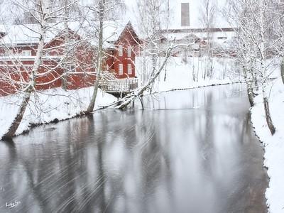 From Magasinsbron, Faluån