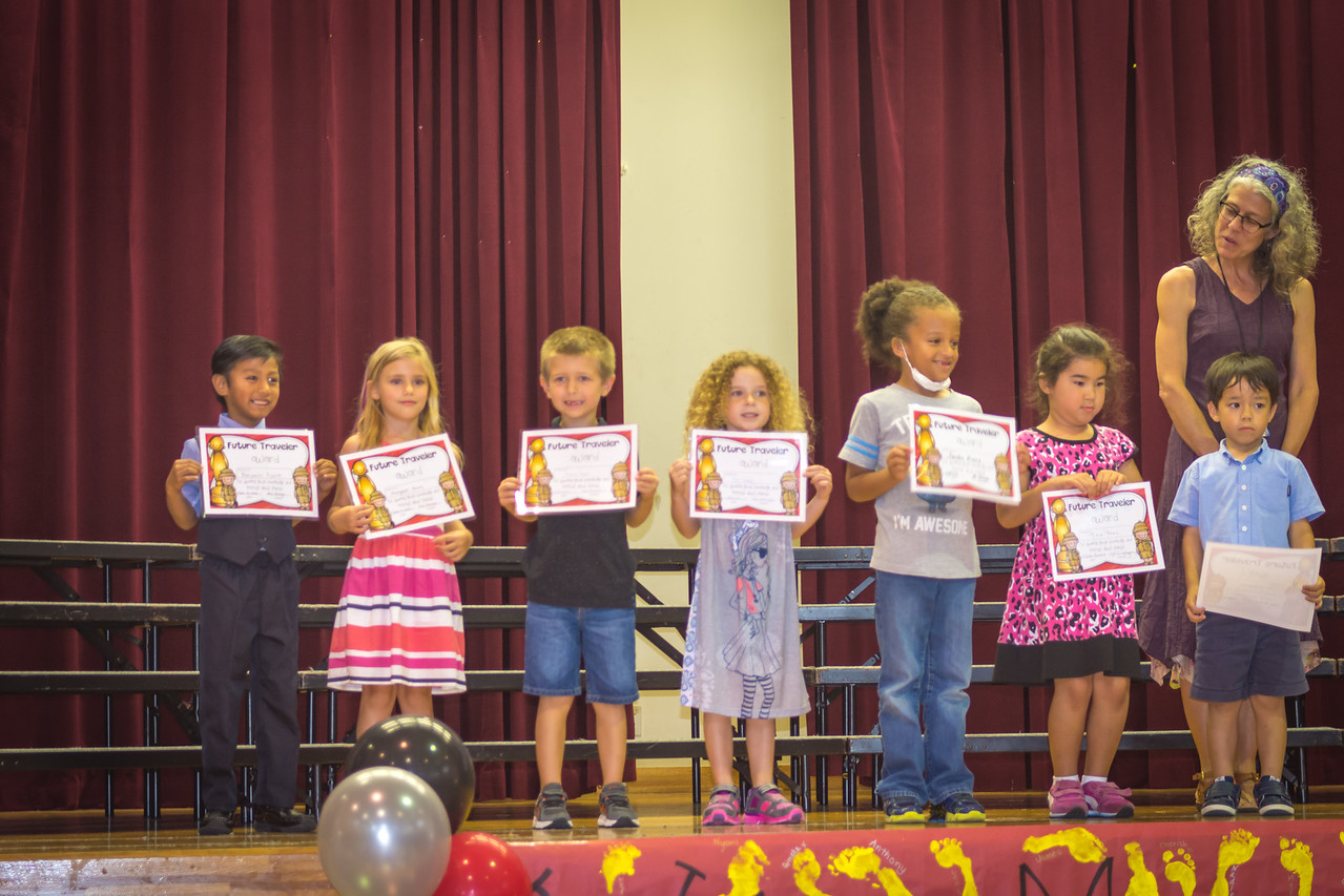 Kennedy's Kindergarten Celebration!