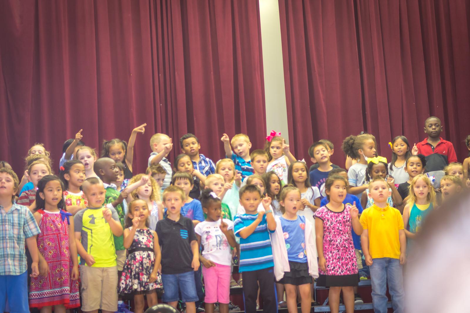 Kennedy's Kindergarten Celebration!