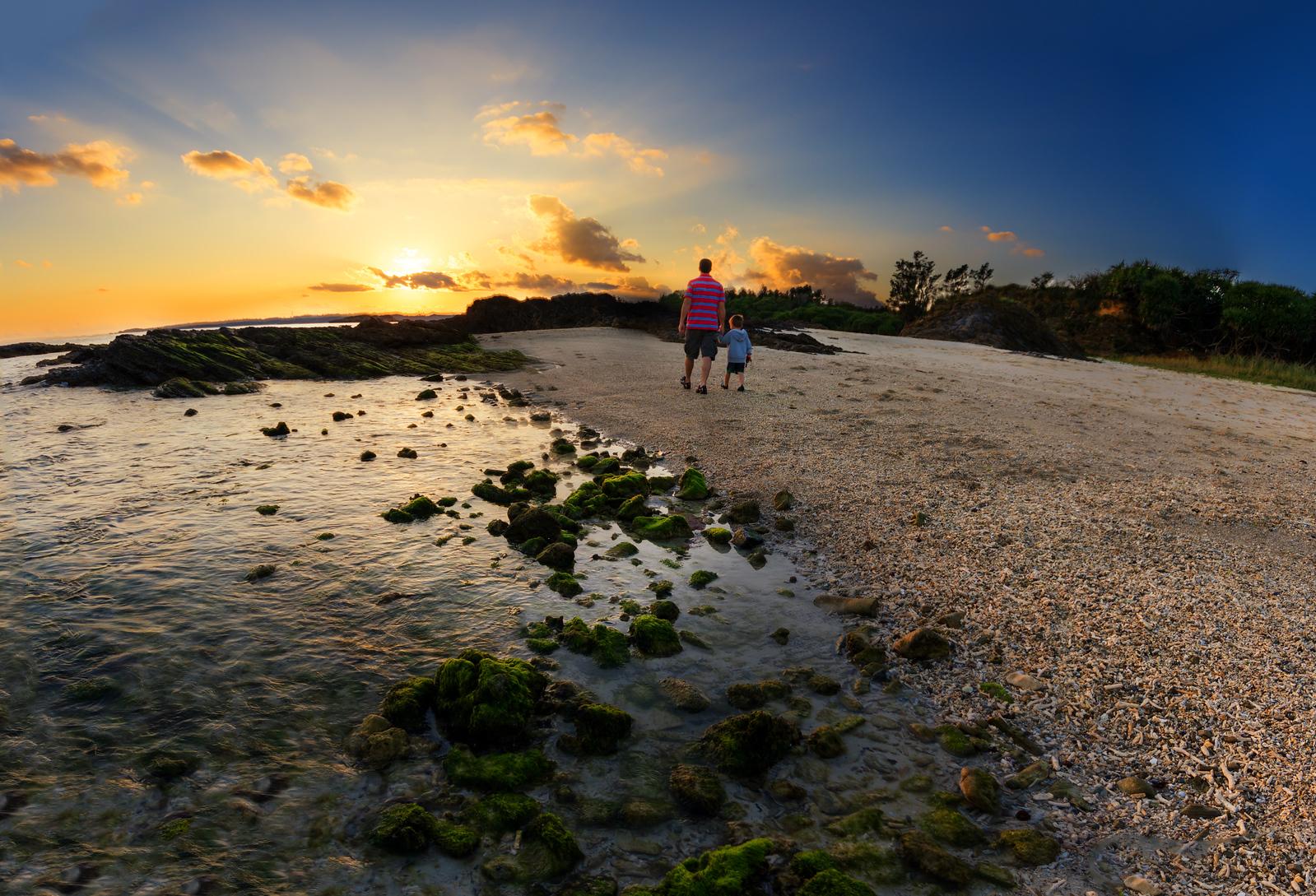 A Walk at Sea Glass Beach