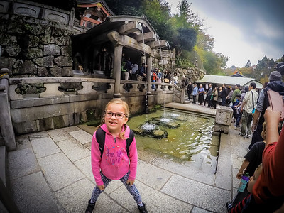 Family Fun at Kiyomezu-Dera