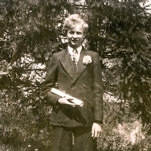 John Jr. - Grammar School Valedictorian - June 1928