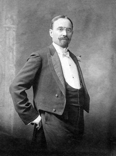 John Sr. formal perhaps wedding photo in 1909