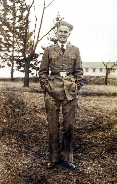 John Jr.  in his ROTC Uniform - Summer 1932