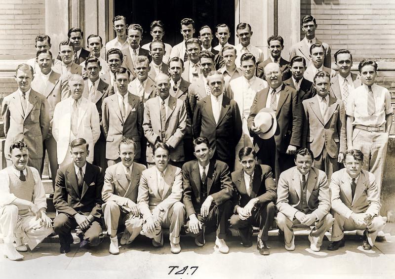 Tau Beta Pi Society - UoA - 1935
