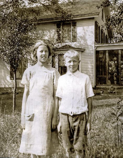 Muriel  & John Jr. circa 1925