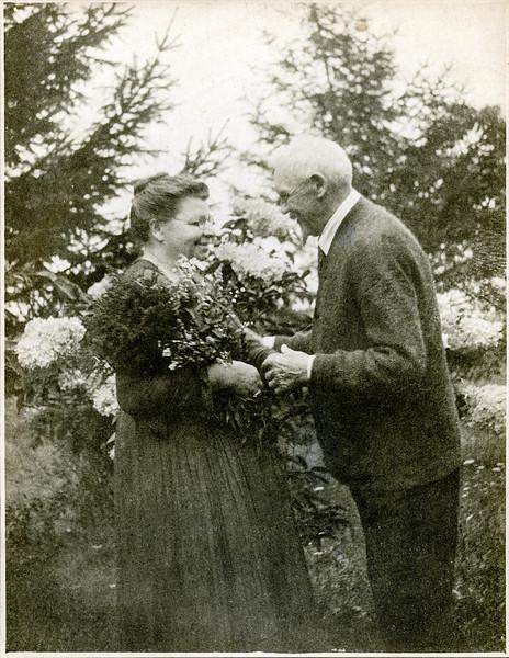 Marin & Henry Ahrenholz in West Nyack - 1921