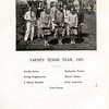 Haverstraw 1929 Varsity Tennis Team  with Muriel
