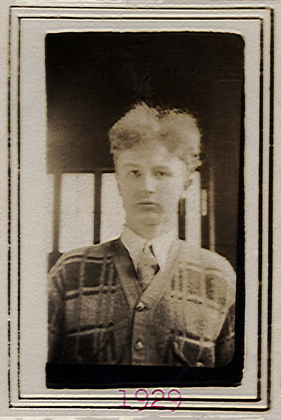 John Jr. - Haverstraw Freshman High School Photo - January 1929