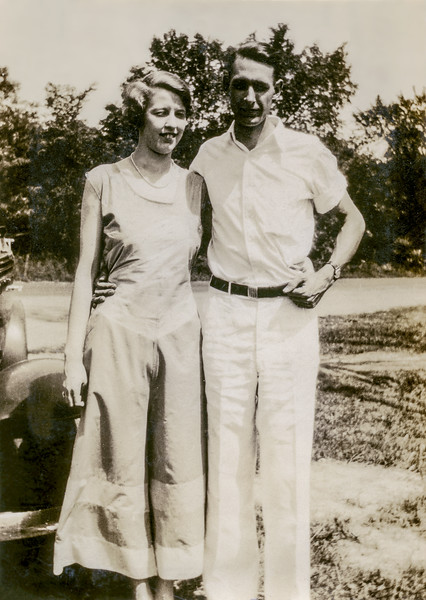 Muriel & Len - 1932