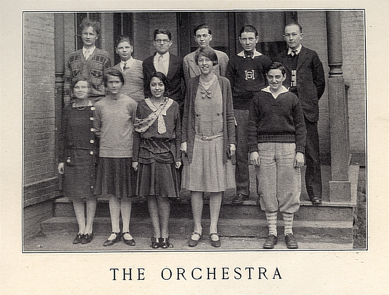 John Jr. - Back row, far left. Muriel - Front row 2nd from right.