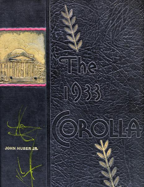 1933 Corolla Yearbook - University of Alabama