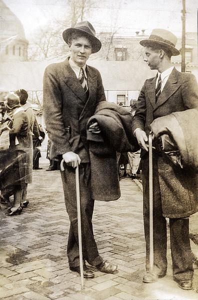 John Jr. with cane - 1931