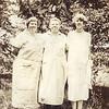 3 generations - Edmunde, Marin & Muriel circa 1931