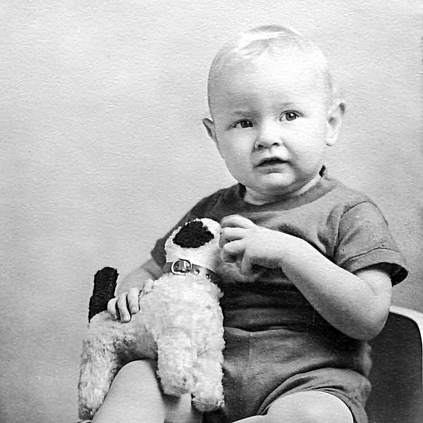Roger Stafford - Cousin & Dad's Godson - circa 1940