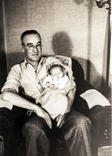 Grandfather Neighmond & Robert - December 19, 1943