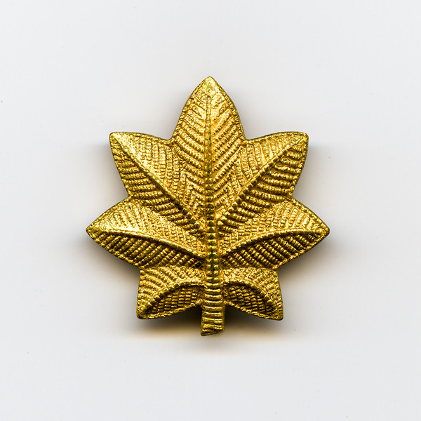 Dad's Major Oak Leaf Insignia