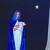 Mom on stage as Madonna - Christmas 1950