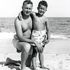 Dad & Robert in Manasquan - 1949
