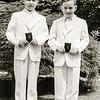 Robert & Tommy Moran - 1st Communion - May 19, 1951