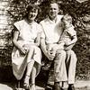 Mom, Dad & Greg -  May 19, 1951