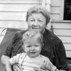 Barry's 1st birthday with Grandma