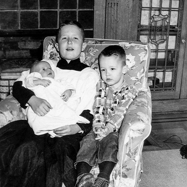 1st photo of the 3 Huber boys - October 1952
