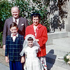 Patty Moran's 1st Communion wtih Joe, Mary & Tommy - 1952