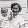 Barry & Mom - 1953