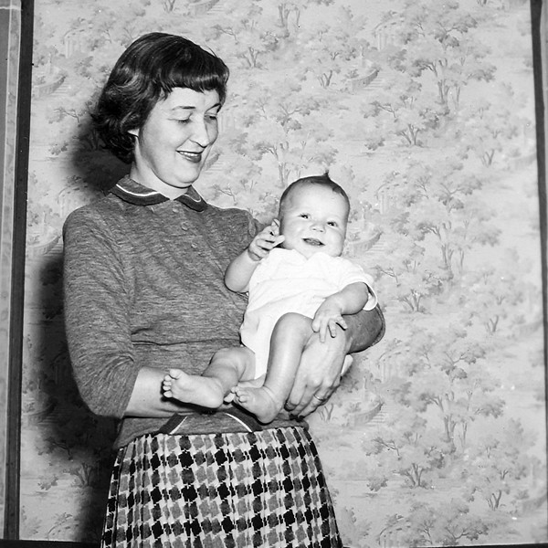 Mom & Barry - October 1952