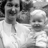 Barry's 1st Birthday with Mom  - September 6, 1953