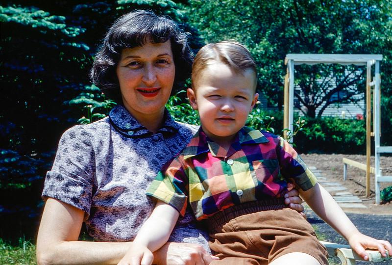 Mom & Greg - June 1952