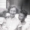Mom with Barry & Robert - 1953