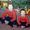 Robert & Greg - Christmas 1954