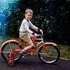 Greg on his bike - July 1954