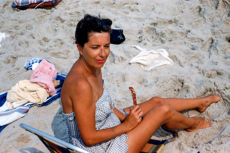 Peggy Colandrea (nee Gorman)  Bay Head - 1954