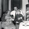Grandma, Susie, Dad & Barry - 1954