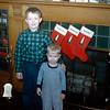 Greg & Barry - Christmas 1954