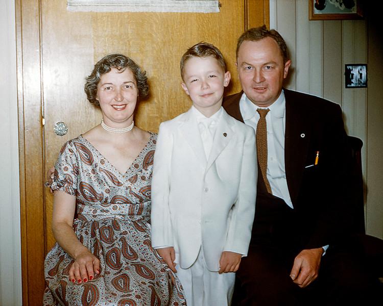 Greg's 1st Communion - April 1955