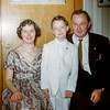 Greg's 1st Communion - April 1955