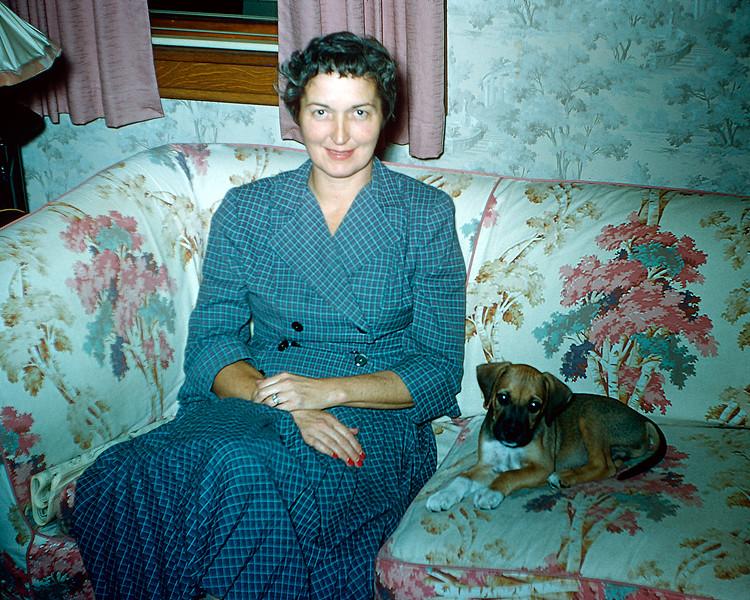 Mom & Major No-No - born July 28, 1955