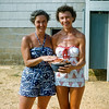 Mom & Ruth Buist - Lavallette 1955