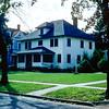 157 Prospect Ave. wth the Hoover & Dana houses - 1955