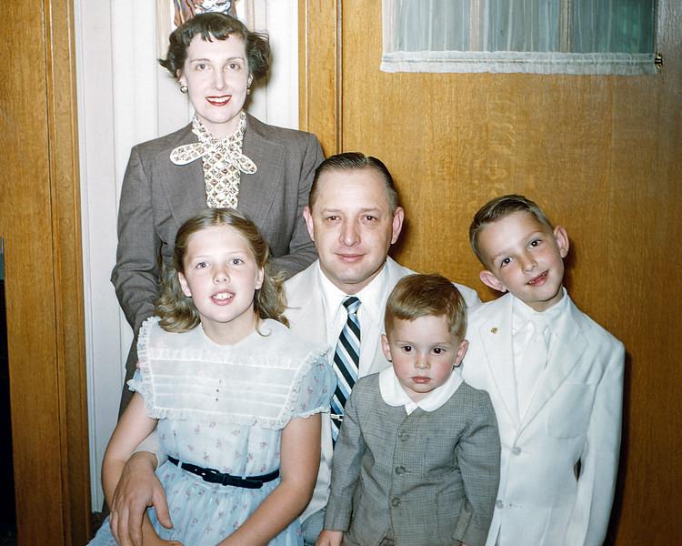 Sonny Bender 1st Communion - April 1955